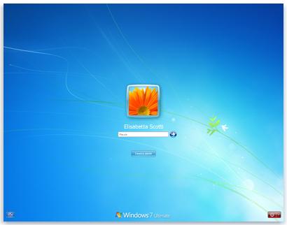 Schermata accesso Windows