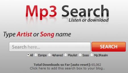 mp3 search