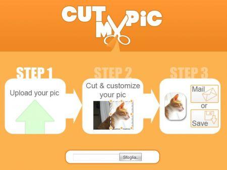 Cut my pic