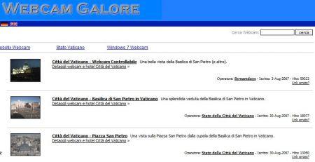 Webcamgalore