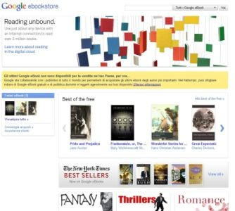 google ebbokstore