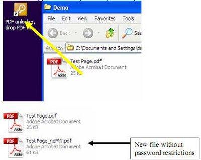 free pdf unlocker drag and drop