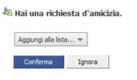 amicizia facebook